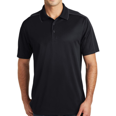 Sport-Tek Micropique Sport-Wick Piped Polo (Apparel)