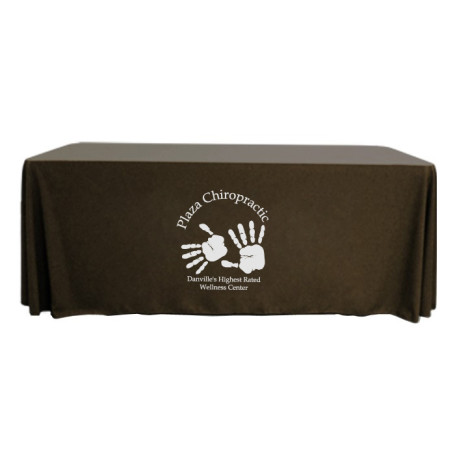 Logo 4' Throw Style Table Cover