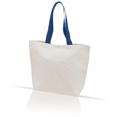 Tote Bag With Color Handle