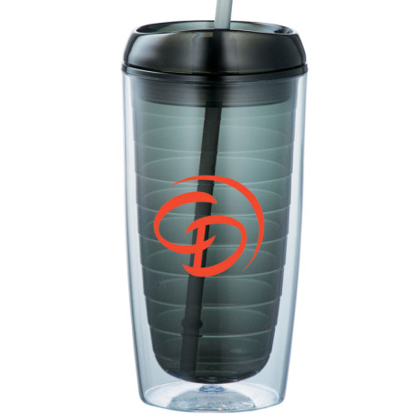 Twister 16-oz. Tumbler with Straw