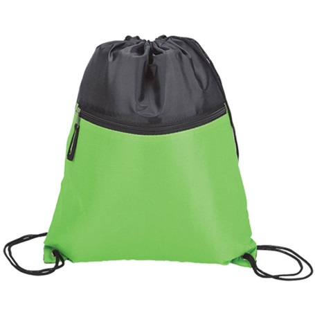 Two Tone Drawstring Sports Bag