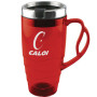 16 oz. Crazy Handle Travel Mug