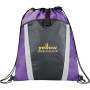 Customizable Vortex Drawstring Cinch Backpack