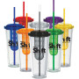 Imprinted 20 Oz. Double Wall Infusion Tumbler