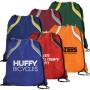 Custom Spirit Drawstring Backpacks