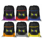 Imprinted Libra Drawstring Cinch Backpack