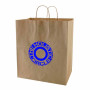 Imprinted-Natural-Kraft-shopping-bags
