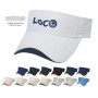 Imprinted Wave Sandwich Visor
