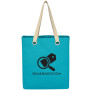 Logo Vibrant Cotton Canvas Tote