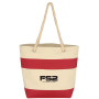 Printed Cruising Tote with Rope Handles