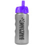 Printed Metalike 22 oz. Bottle with Flip Straw Lid