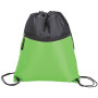 Two Tone Drawstring Sports Bag