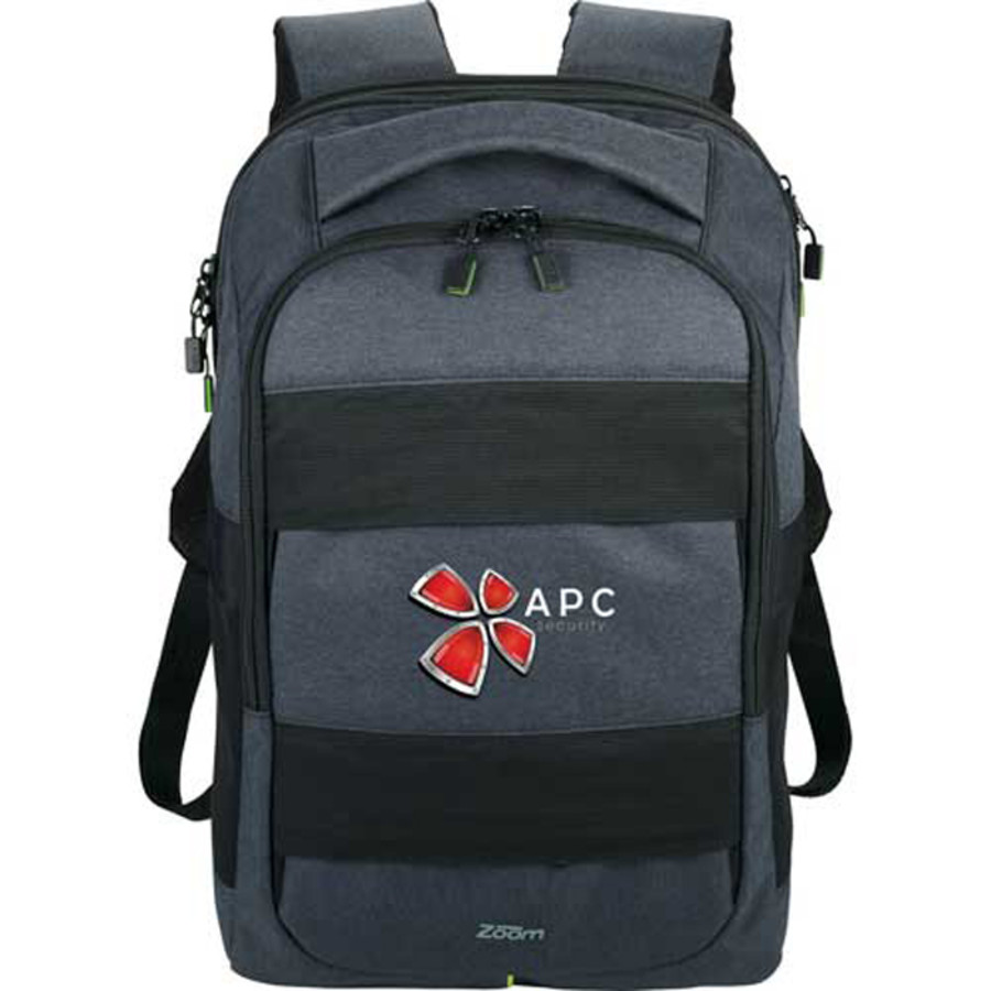 Logo Zoom™ Power Stretch Checkpoint-Friendly Backpack