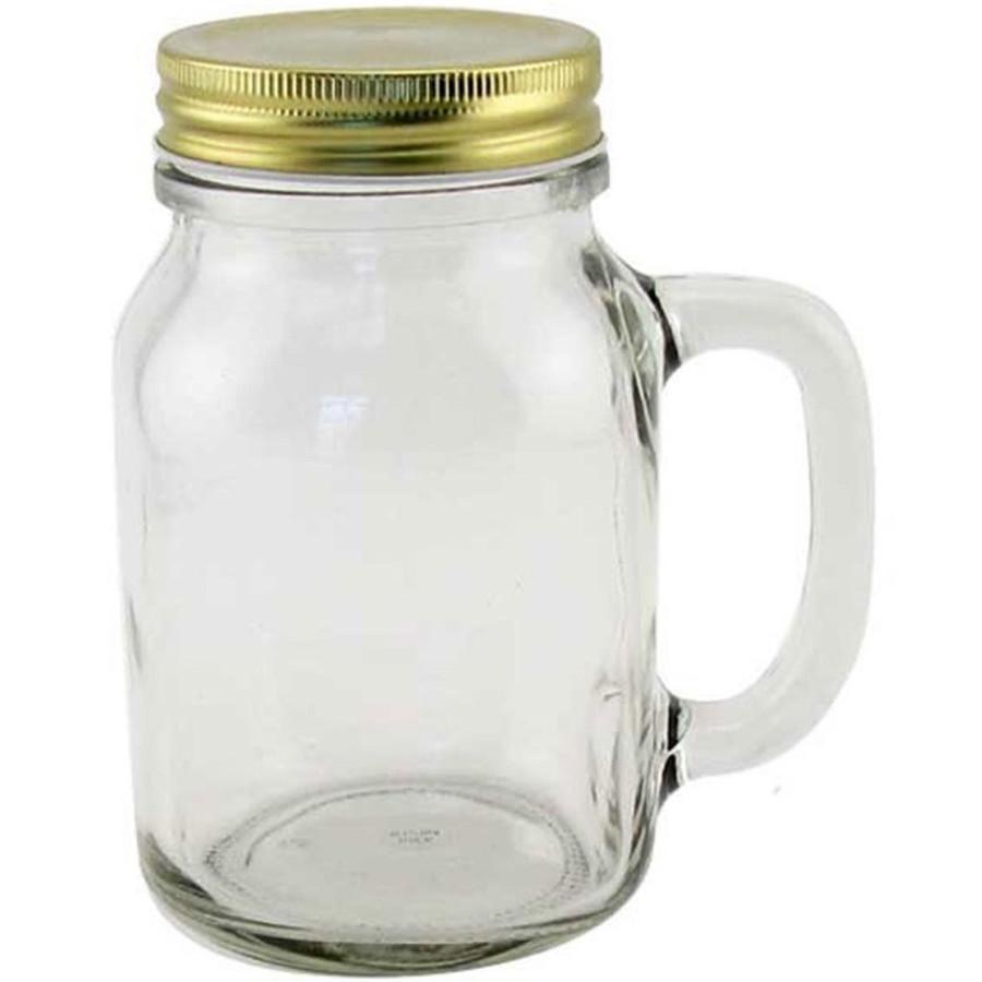 20 oz Glass Mason Jar