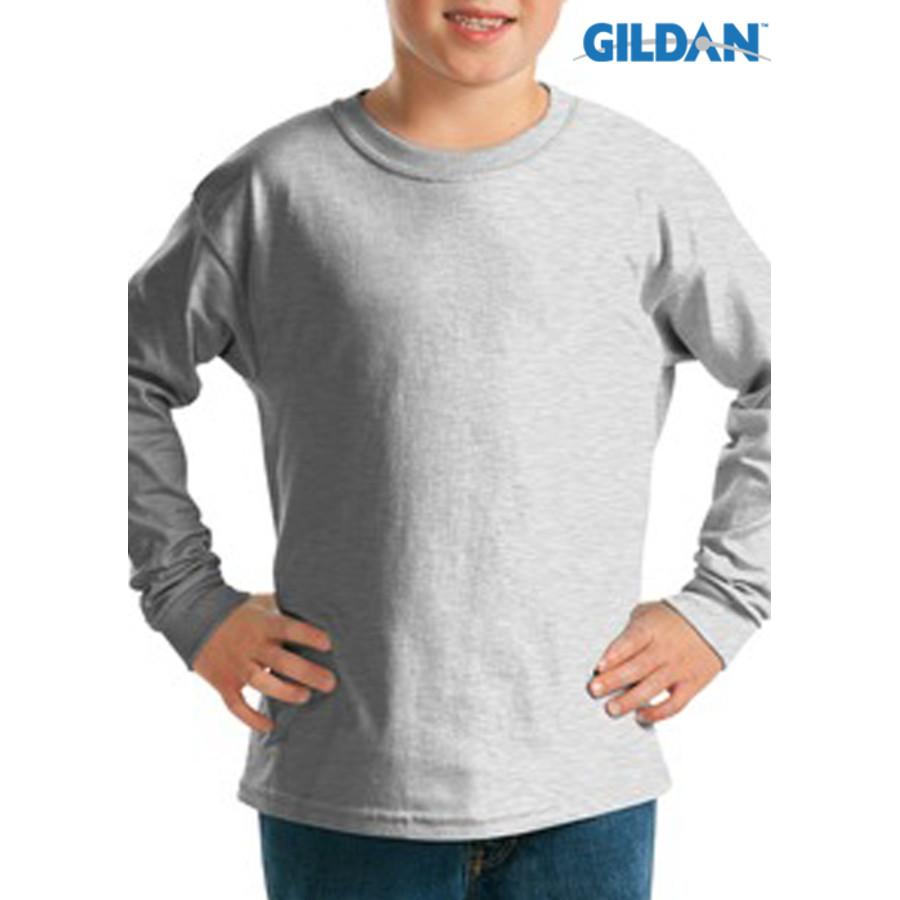 Gildan Youth Ultra Cotton Long Sleeve T-Shirt
