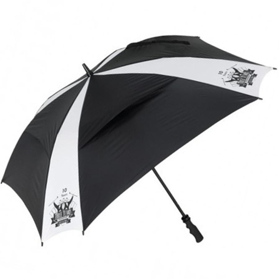 """Custom Logo Cyclone 62"""" Arc Square Golf Umbrella"""