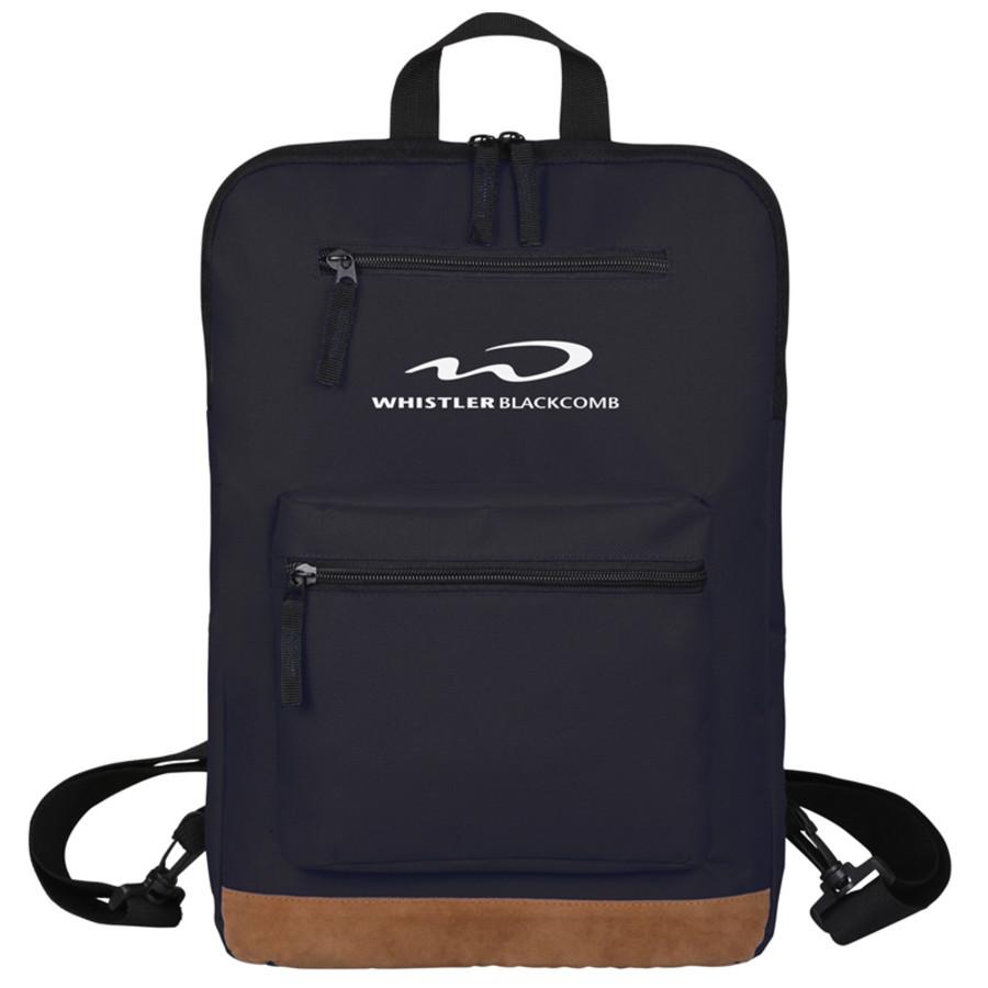 Printed Slim Backpack