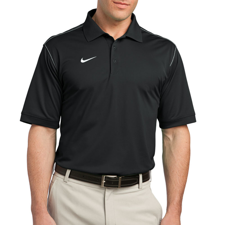 Nike Golf Dri-FIT Sport Swoosh Pique Polo (Apparel)