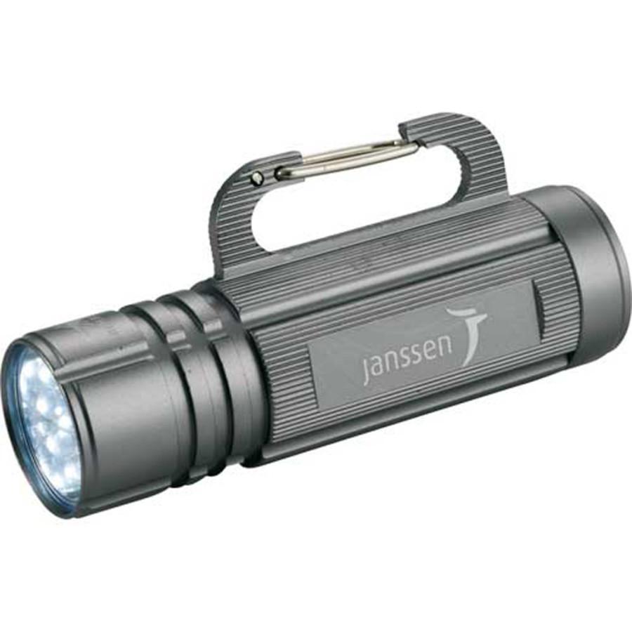 Monogrammed High Sierra Carabiner Hook Flashlight