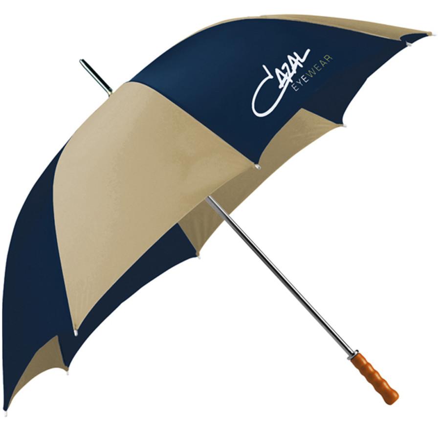 "Customizable Palm Beach 60"" Steel Golf Umbrella"