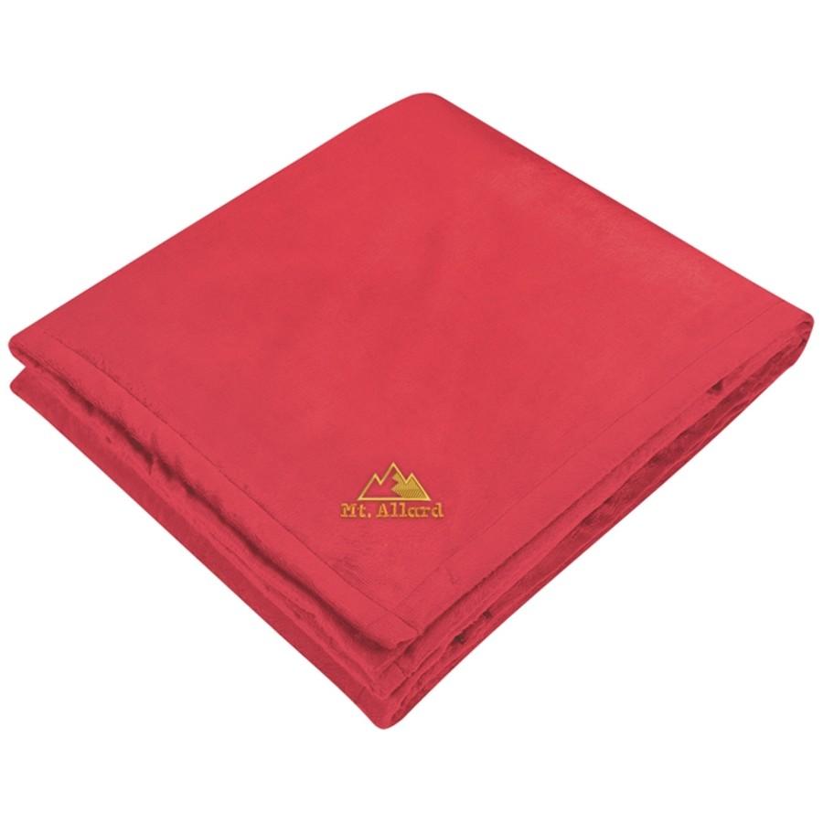 Reversible Ribbed Flannel Blanket
