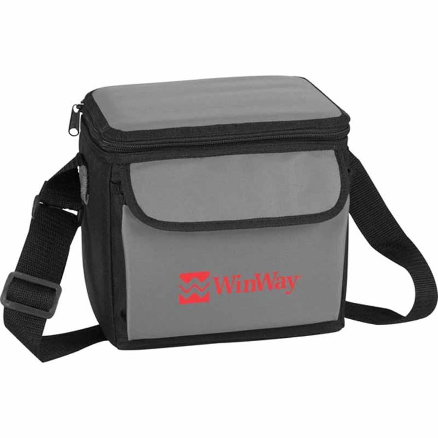Logo 6-Can Cooler Bag