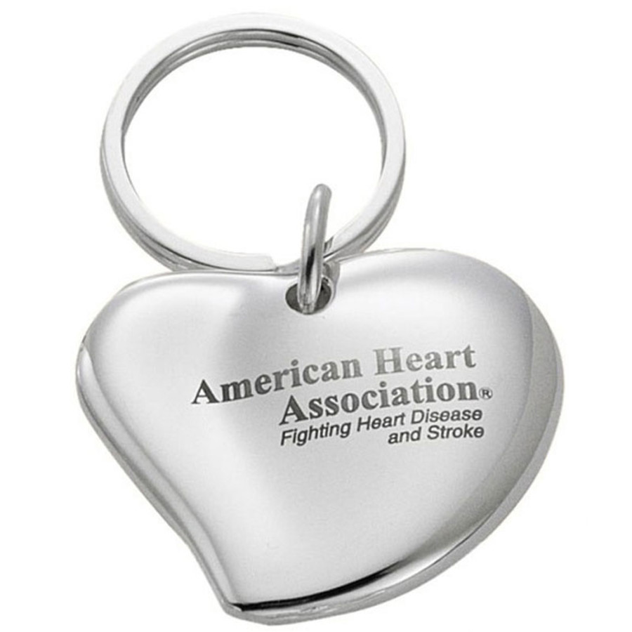Custom Heart Shaped Key Chain