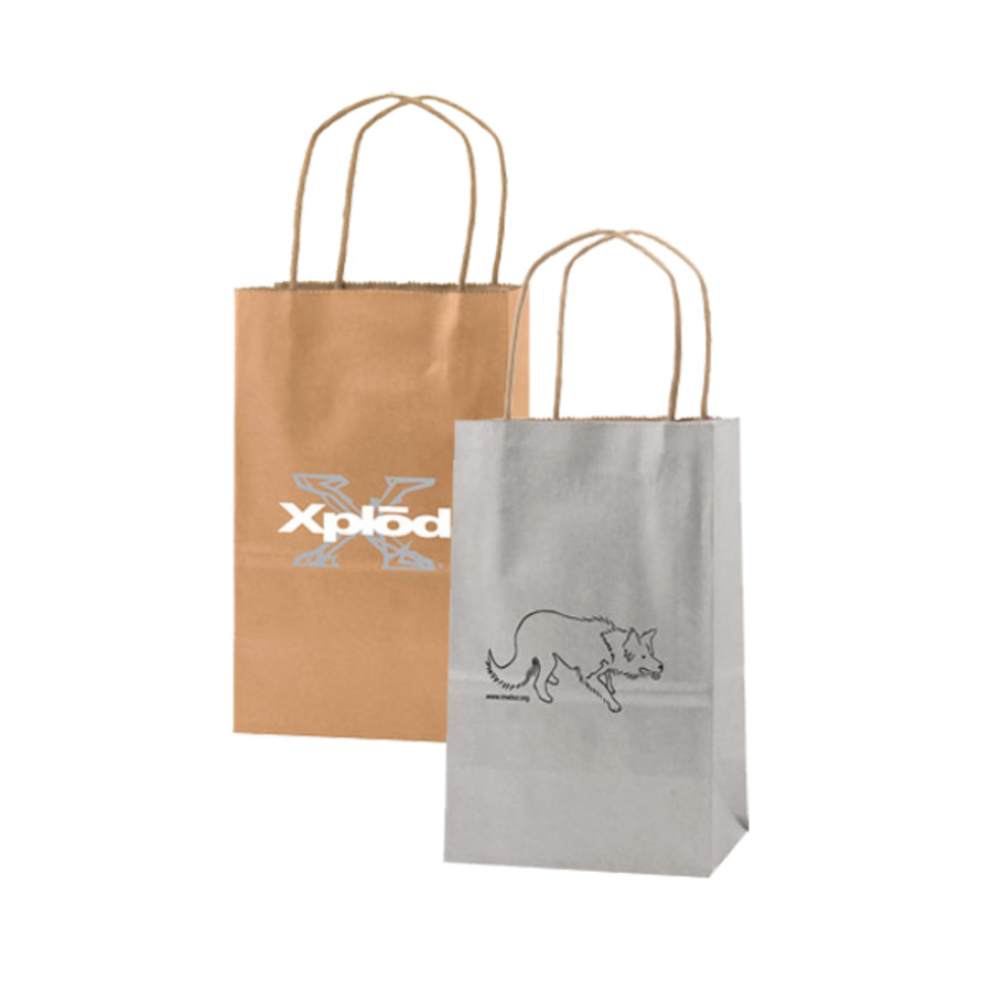 Custom-Logo-Precious-metals-kraft-shopping-bags