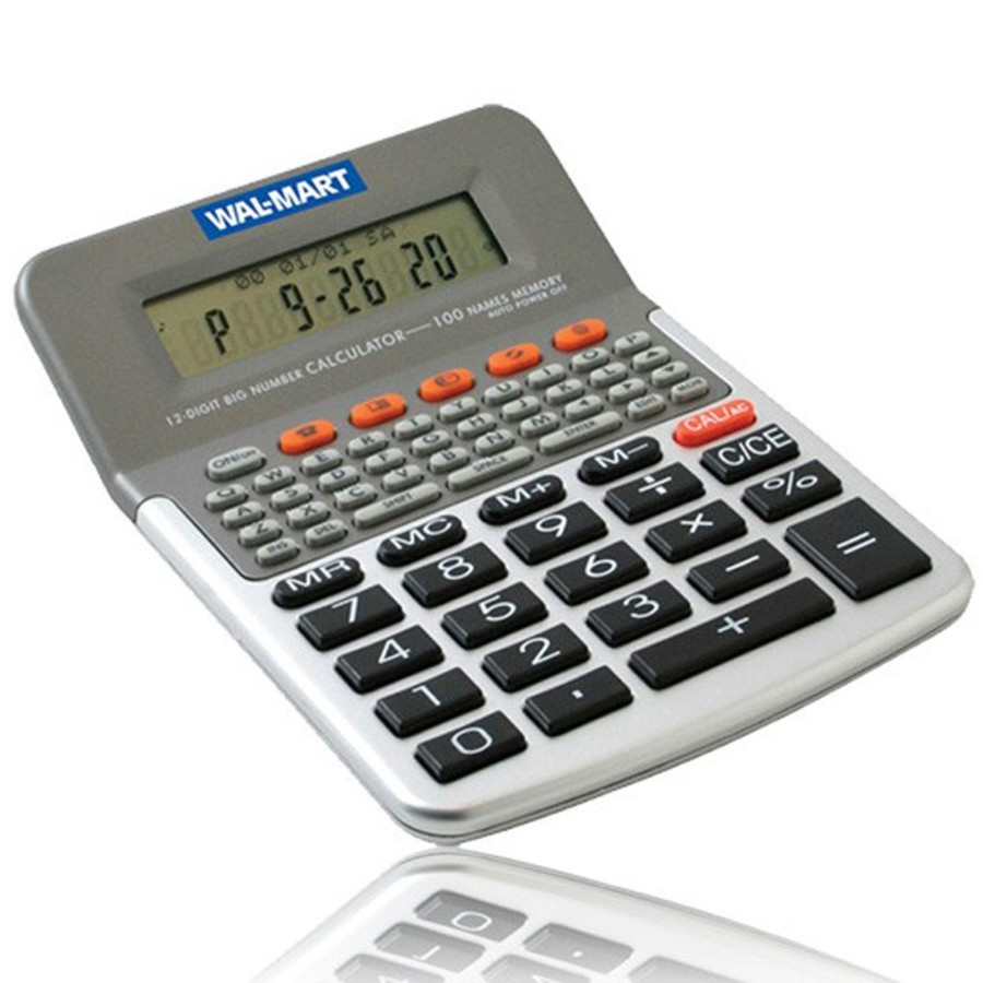 Custom Multi Function 12 Digit Calculator