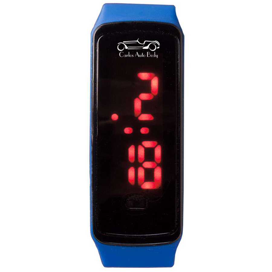Custom Printed Rectangle Unisex Digital LED Watch