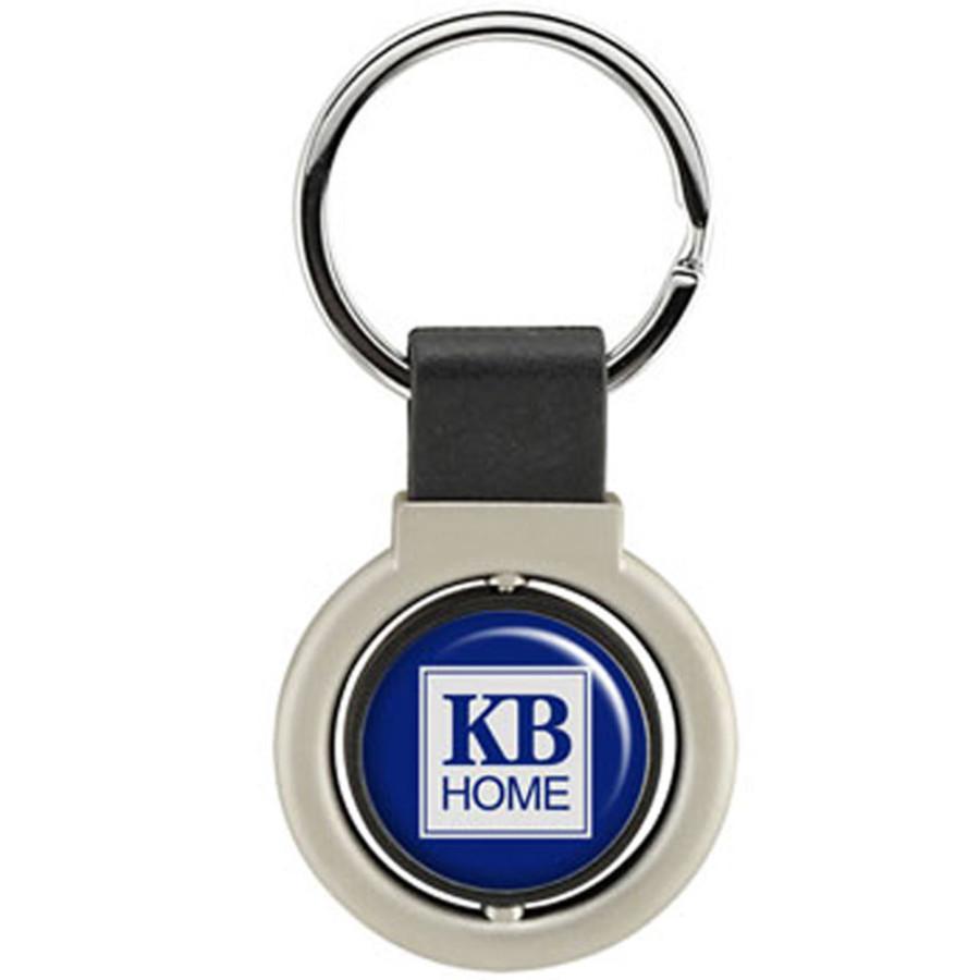 Custom Printed Swivel Keychain