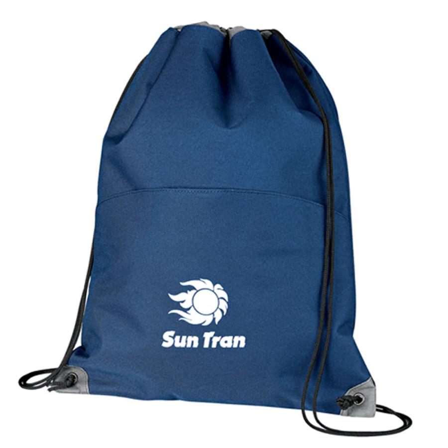 Custom Profiles Drawstring Cinch Bag