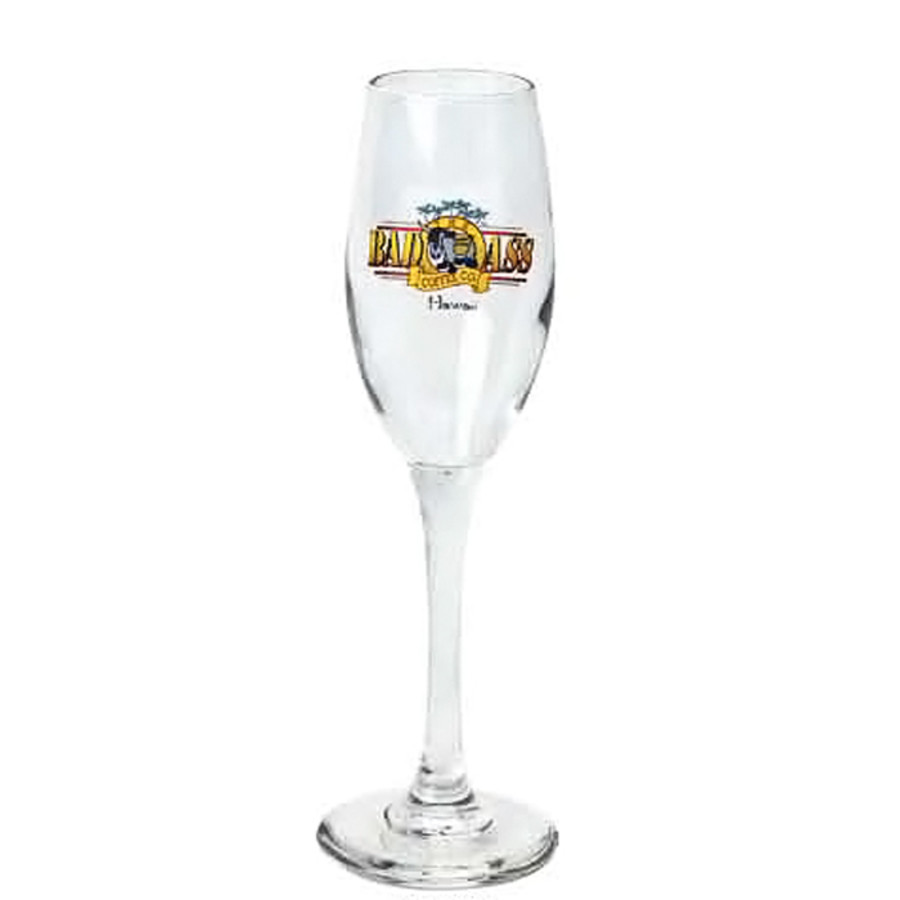 6 oz. Promotional Champagne Flutes