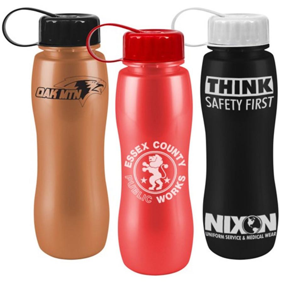 Customizable 25 oz. ShimmerZ Slim Grip Bottle