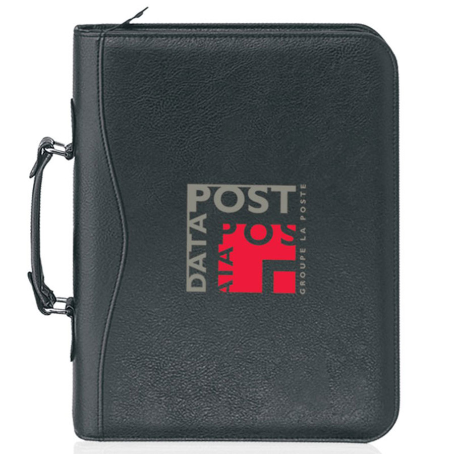 10 x 13.5 Executive 3-Ring & Handle Portfolio