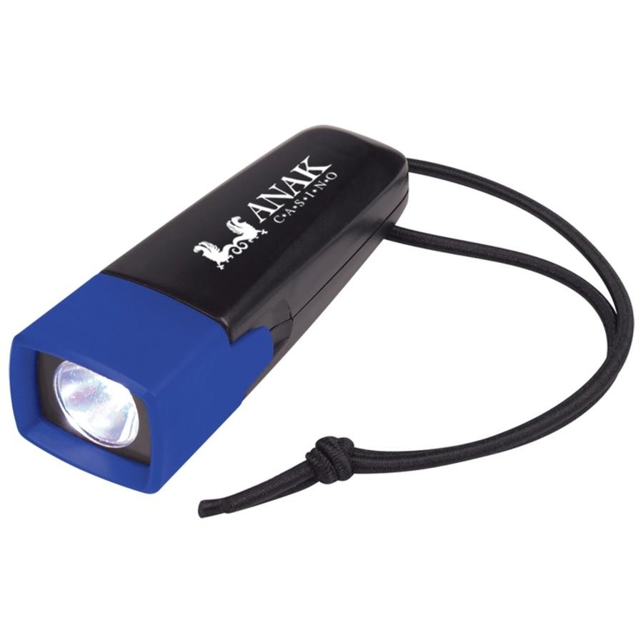 Cob Flashlight with Strap