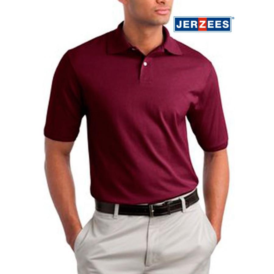JERZEES SpotShield 5.6oz Jersey Knit Sport Shirt