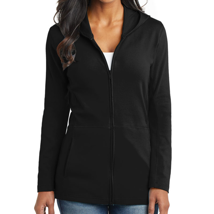 Port Authority Ladies Modern Stretch Cotton Full-Zip Jacket (Apparel)