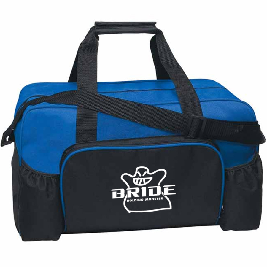 Promotional Econo Duffel Bag-blue printed