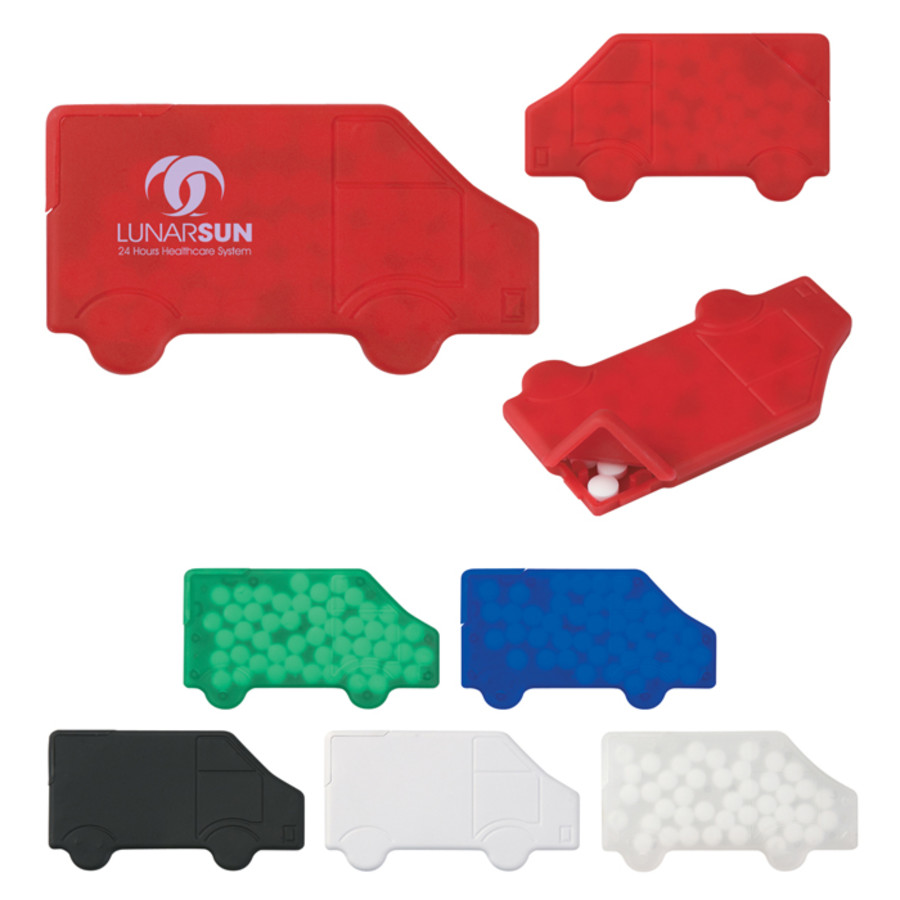 Logo Truck Shape Peppermints