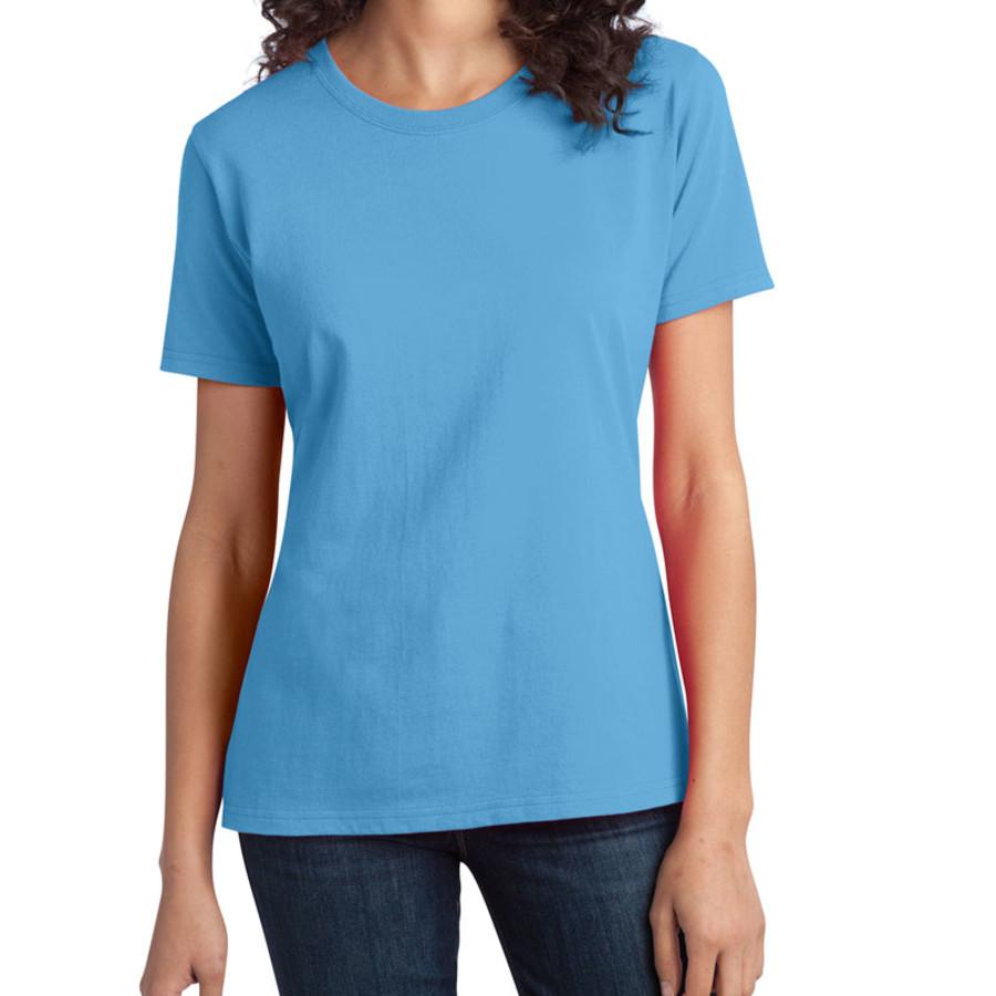 Port & Company - Ladies Essential Ring Spun Cotton T-Shirt (Apparel)