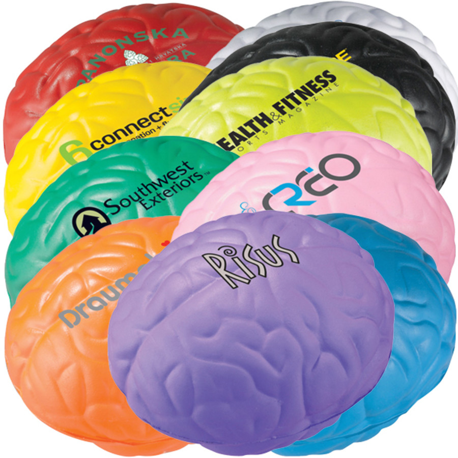 Monogrammed Brain Stress Reliever