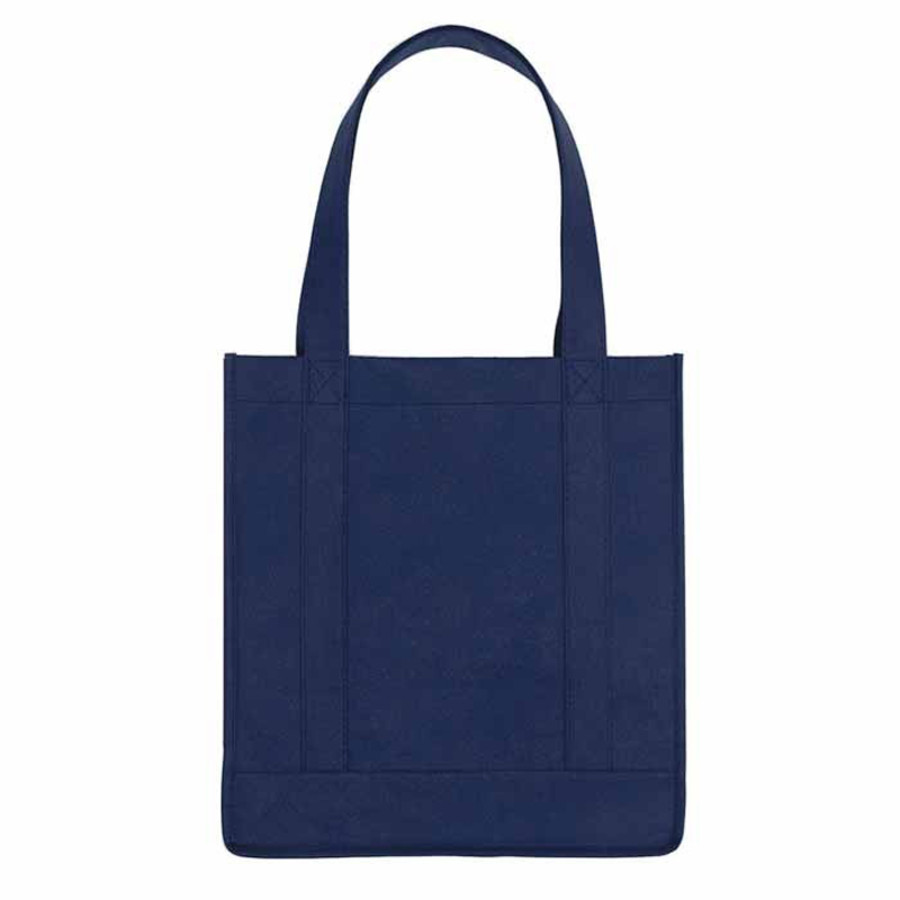 Monogrammed Non-Woven Avenue Shopper Tote Bag