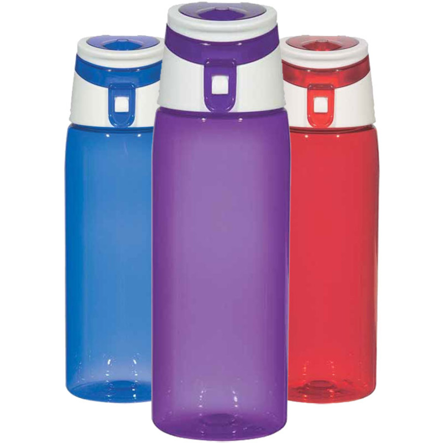Personalized 24 Oz. Flip Top Sports Bottle