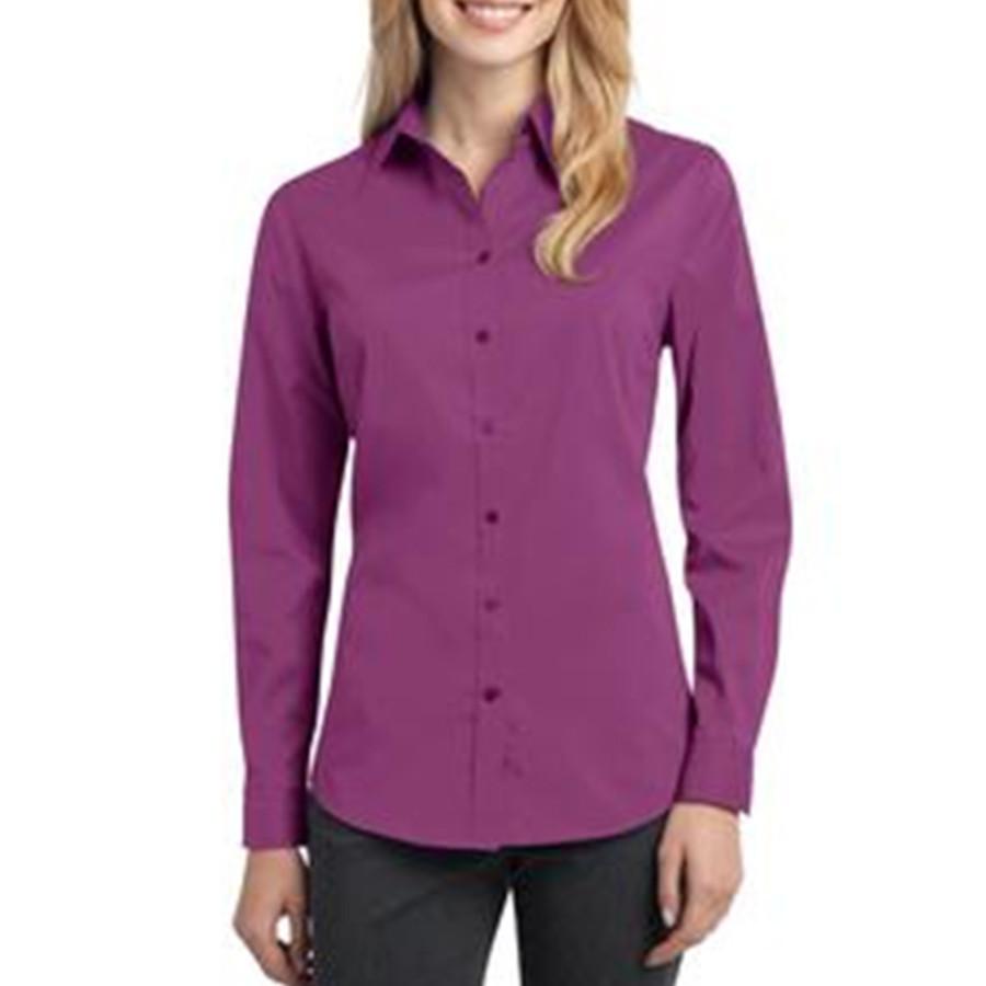 Port Authority - Ladies Stretch Poplin Shirt
