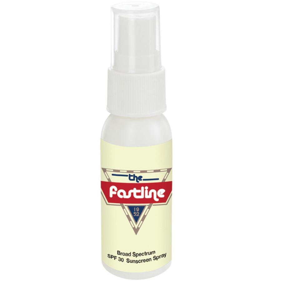 Printable 1 Oz. SPF 30 Sunscreen Spray Bottle