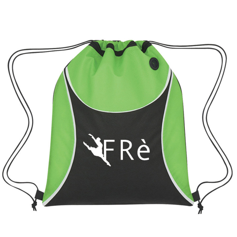 Printable Verge Non-Woven Drawstring Sports Pack