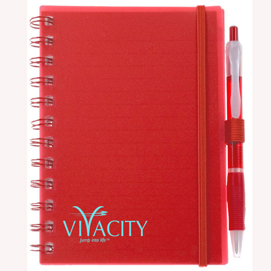 Printed Spiral Bound Pocket Notebook