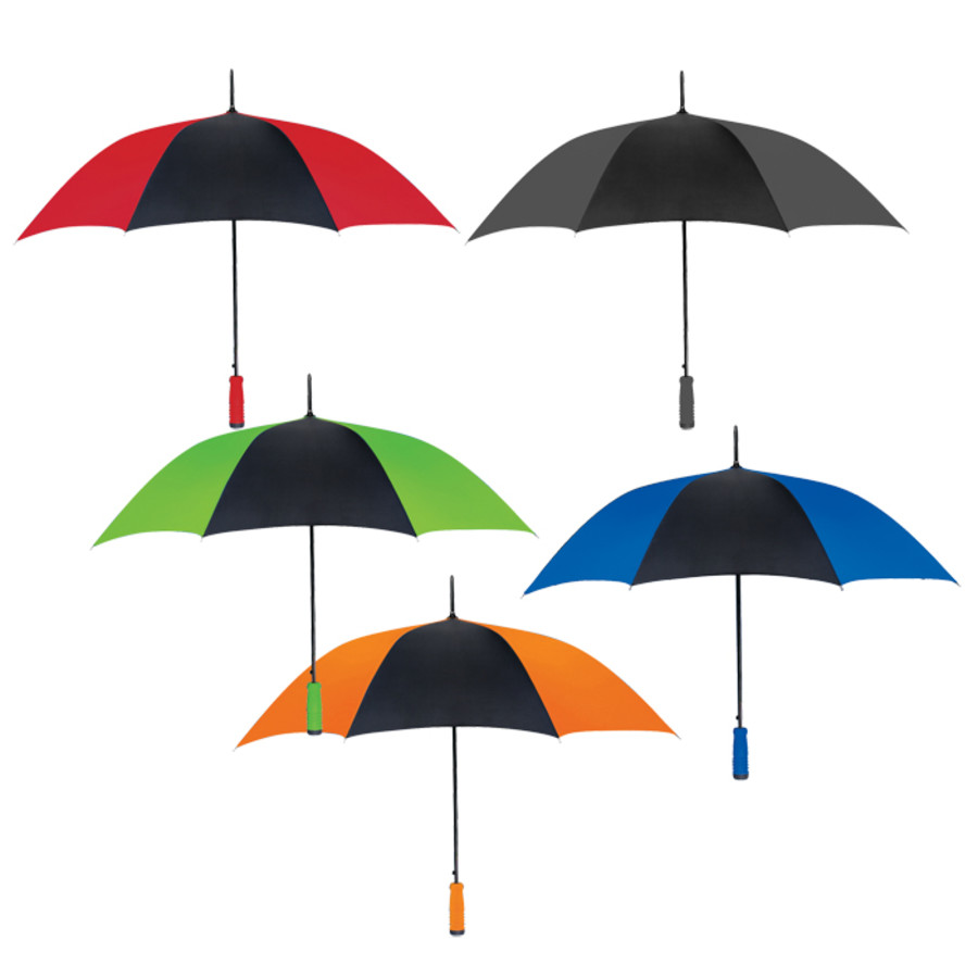 "Promo 46"" Arc Umbrella"
