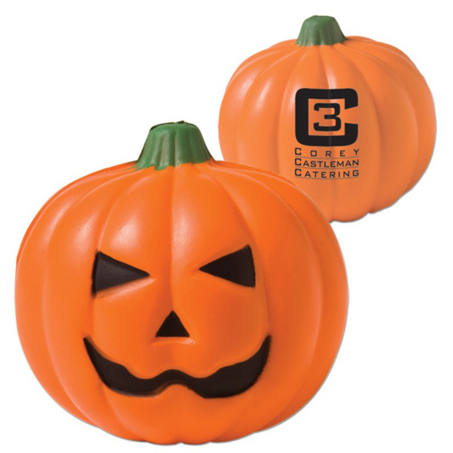 Promo Pumpkin Stress Reliever